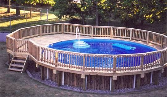 How to build a deck around an above ground pool pictures for Above ground pool decks tampa