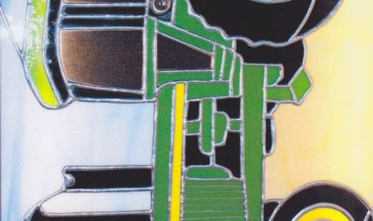 John Deer Tractor Delphi Stained Glass Stained Glass