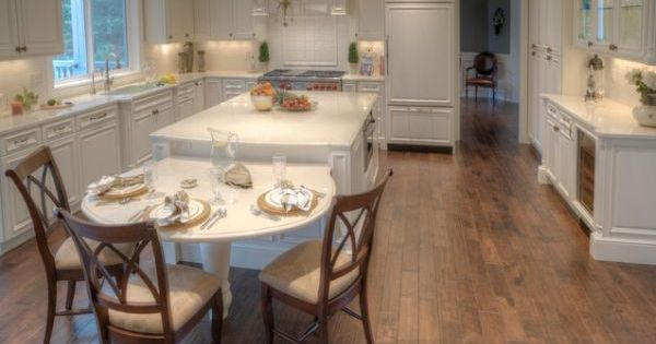 Kitchen Island Table Combination 30 kitchen islands with tables, a simple but very clever combo
