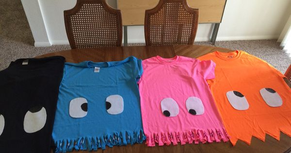 Pac-man costume t-shirts. Super easy pacman   Costume ...