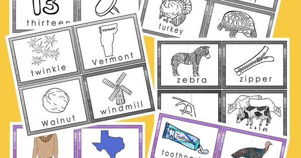 Premise Indicator Words: Two Syllable Word Puzzles For Word Wall Cards And Flash