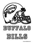Buffalo Bills Coloring Pages : buffalo, bills, coloring, pages, Coloring, Pages, Buffalo, Bills,, Football, Pages,, Bills