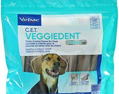 Virbac C E T Enzymatic Oral Hygiene Chews Small Dog 30 Count