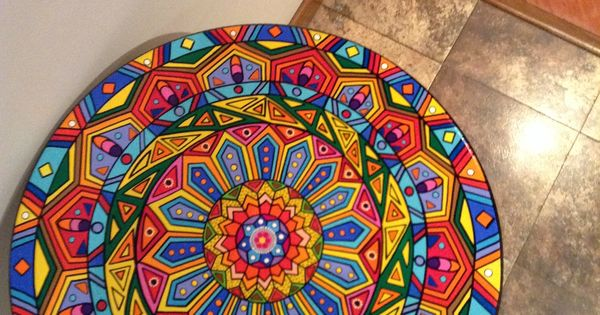 Mesa pintada a mano | Be Creative! | Pinterest | Paint ...