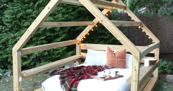 Diy Ana White Build A Outdoor Cabana Backyard Retreat