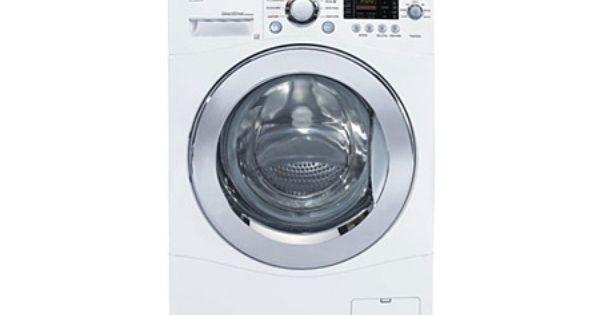 Lg Wm1355hw 2 7 Cu Ft Capacity Washer In White Lg Canada Compact Washer And Dryer Washer And Dryer Compact Washer