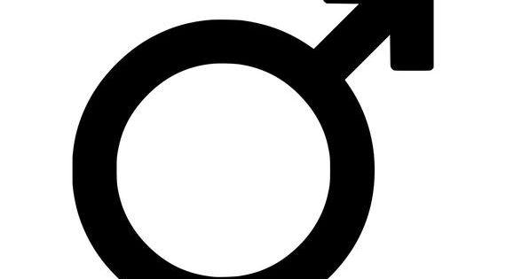 Male Gender Symbol Vinyl Decal Sticker Sign Mars Man