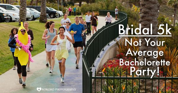 @Allison how funny is this? A Bridal 5K race instead of a