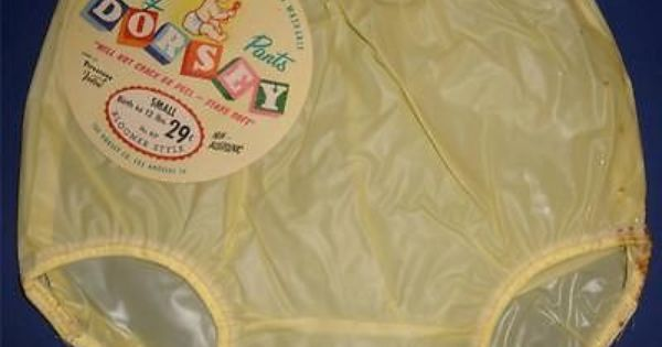 1950s Vintage Dorsey Baby Or Composition Doll Rubber Pants