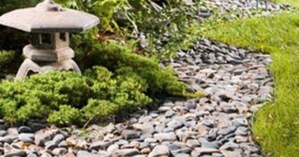 Pl nitude et zen dans votre jardin japonais galets for Bordure jardin zen
