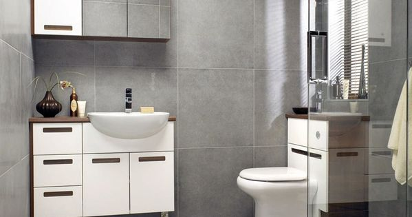Square Grey Bathroom Tiles Guest Bath Ideas Pinterest