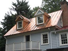 Copper Metal Roofing Copper Roof House Copper Roof Metal Roof Houses