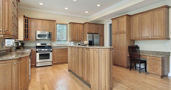 Custom Wood Luxury Kitchen Design And Desks On Pinterest