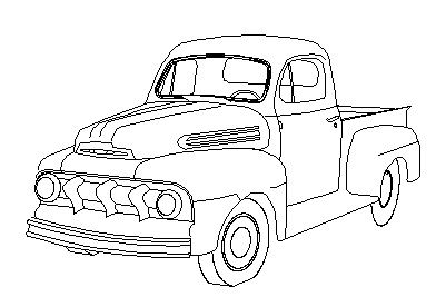 A Drawing Of A 49 F1 Ford Truck Enthusiasts Forums Classic
