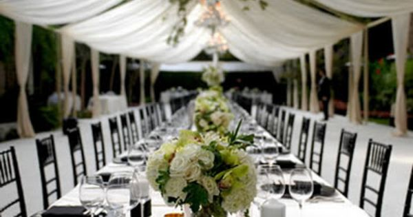 draped  Wed. Party Rentals  Pinterest