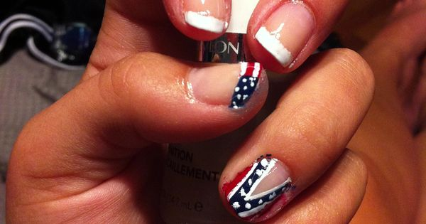french and american flag