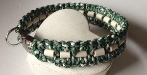 Barockelfen Halsbander Mit Em Keramik Halsband Em Keramik Halsband Paracord Halsband