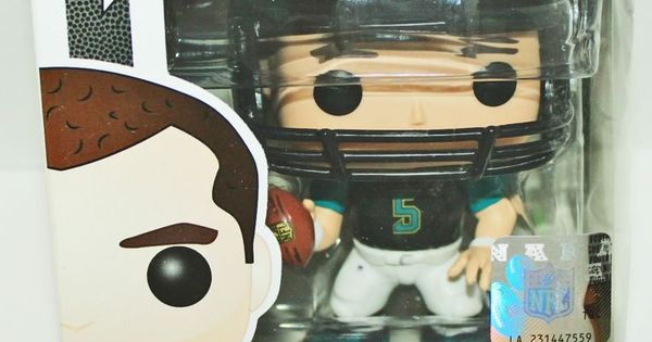 blake bortles funko pop toy figure nfl football jacksonville jaguars 2014 jaguar 2014. Black Bedroom Furniture Sets. Home Design Ideas