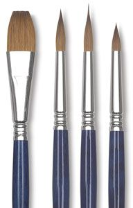 Escoda Optimo Kolinsky Sable Watercolor Brushes Watercolor