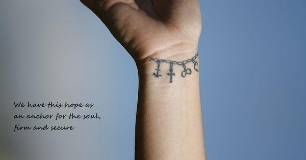 Friendship bracelet tat