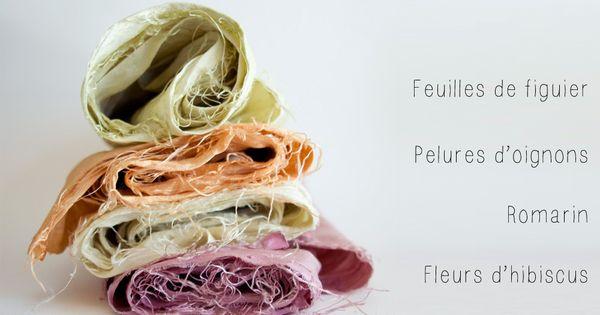 Teinture v g tale teindre du tissu naturellement vert cerise - Teinture tissus naturelle ...