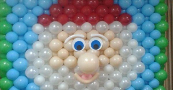 Mural globos navide o pinteres for Mural navideno