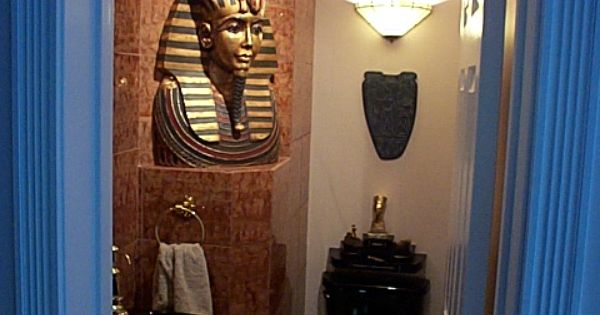 Egyptian 1 2 bath ideas for the house pinterest for Bathroom designs egypt