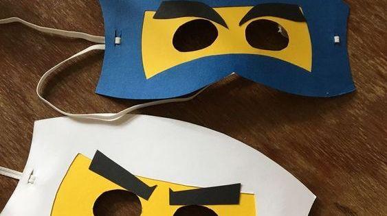 Maskers Knutselen Lego Verjaardagsfeestje Maskers Knutselen Carnaval