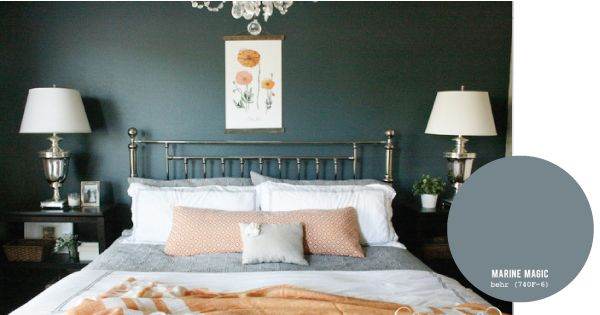 Paint Colors Used In Our Home Deep Blue Paint Colours