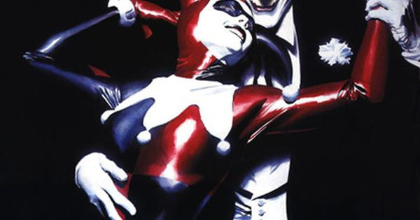 Joker and Harleyqueen by Alex Ross