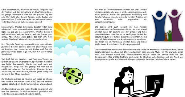 Zwei Seiten Aus Der Ladybird Jahreszeitung Erstellt Mit Den Google Docs Zeichnung Alleinerziehende Mutter Alleinerziehend Erziehung