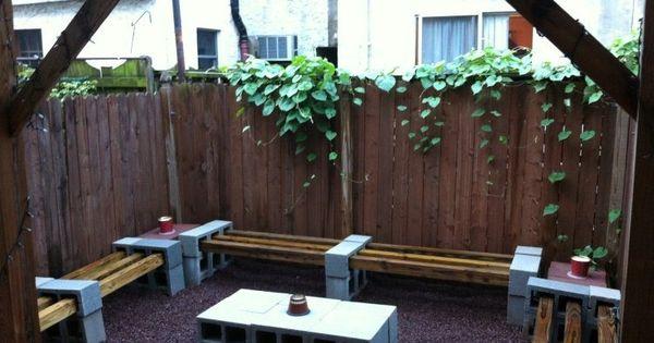 Bloc béton pour la déco de jardin en 30 idées créatives  Design ...