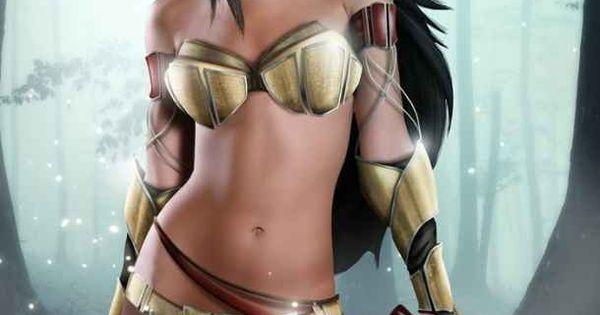 Pocahontas, Pocahontas   Disney Princesses Get A Fierce Warrior Makeover
