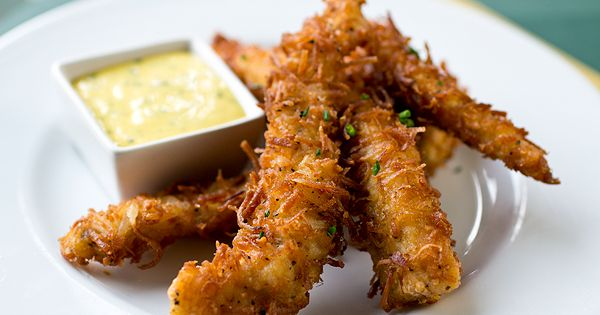 A Cozy Appetizer: Coconut Crunch Chicken Strips, And Letting Love Be The