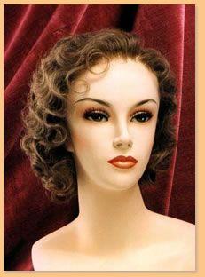 Period Wigs: 1930's Women's   Wigs, Hair