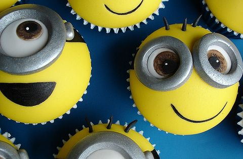 Food, Despicable Me Cupcakes