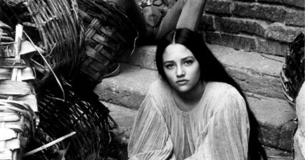 Romeo (Leonard Whiting) takes a photo of his Juliet (Olivia Hussey) on