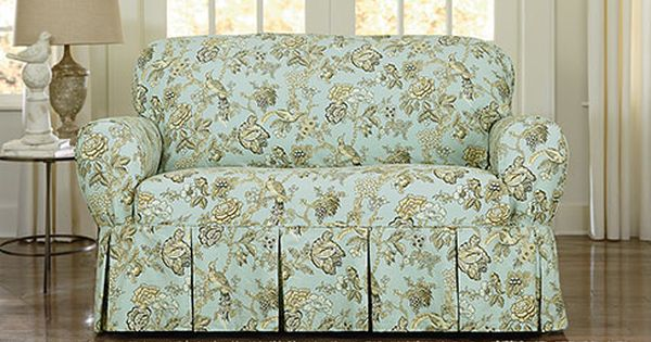 Sure Fit Slipcovers Casablanca Rose By Waverlysupsmalltm Small Sup One Piece Slipcovers