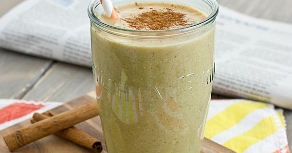 Pumpkin Spice Breakfast Shake Recipe: 1/4 c. pumpkin puree 1 tbsp. maple