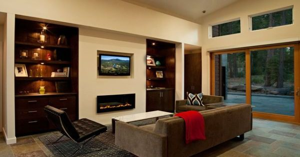 21 Easy Unexpected Living Room Decorating Ideas: 21 Modern Fireplaces: Characteristics And Interior Décor