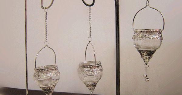 Europea estilo adornos de jard n candelabro de vidrio - Regalos decoracion hogar ...