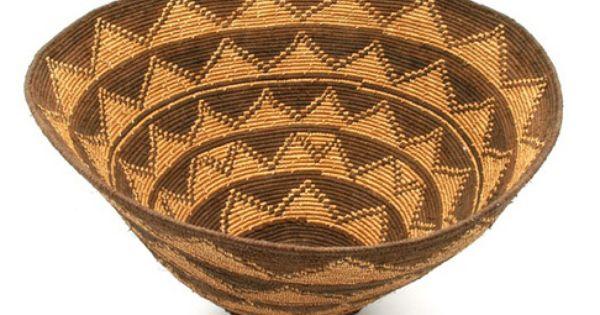 Gratiot Lake Basket Weaving Supplies : Africa basket from angola th century african art