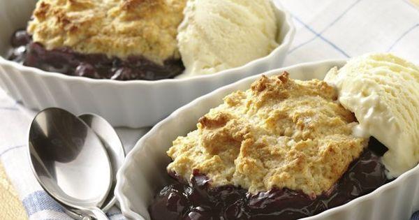 Ingredient Blueberry Cobbler | Recipe | Blueberry Cobbler, Cobbler ...