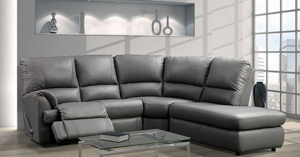 Canadian Made Reclining Sectional Worldwide Furniture