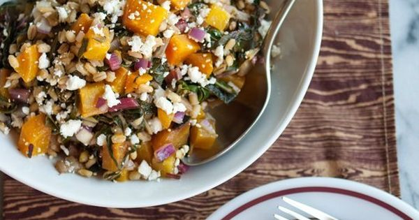 Golden Beet and Barley Salad with Rainbow Chard | Recipe | Beets ...