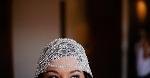Vintage cap veil