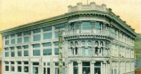 Postcard Stone And Thomas Department Store Department