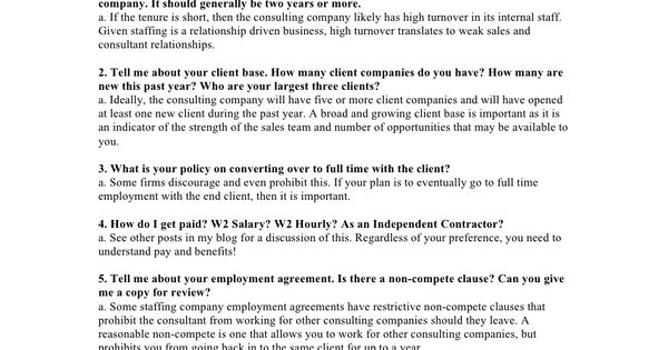 10 Questions to Ask a Staffing Company Advice Et Cetera - sales employment agreement