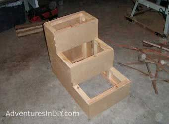 Free Dog Ramp Plans Dog Stairs Dog Steps For Bed Pet Stairs