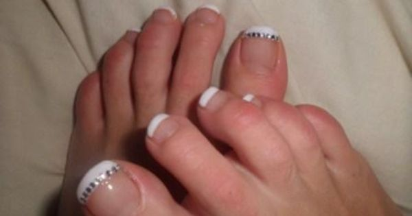 Pin By Stacey Shelton On Things That Annoy Me Toe Nails French Manicure Toes Manicure